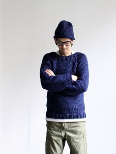 Maiami Basic Thick Sweaterの画像:STYLE Mat Fashion, Gents Fashion, Japan Fashion, Smart Casual Menswear, Gentleman Style, Casual Looks, Winter Fashion, Minimalist Fashion, Gents Style