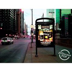 """Popping up everywhere! #chicago #cta #gingerbeer #shoplocal #jcdecaux #craftcocktails"""