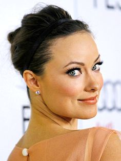MESS IS BEST  Last-minute invite? Don't fret about not having hours to pull together an elaborate coif. Stylist Alex Polillo gave Olivia Wilde this easy updo by braiding a loose ponytail, twisting it into a bun and finishing the look with a Jennifer Behr headband (leather gives polish, but play with sparkling or multistrand styles too!). Voilà – party ready in five minutes!