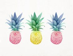 Pineapple. Pineapple. One. Two. Three. Oh how I love thee!