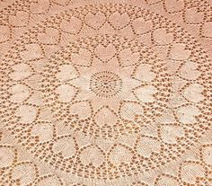 MWhitedesigns--Mary White--Valentine Design Shawl or Tablecloth