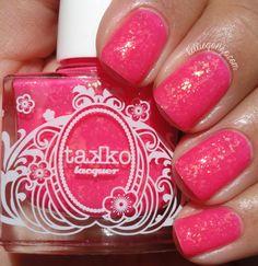 Takko Lacquer Electric Flamingo // kelliegonzo.com