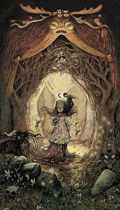 Dans la forêt, de Lionel Richerand - Editions Soleil, collection Métamorphose