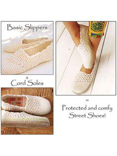 Slanting Line Basic Slipper