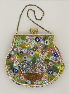 Handbag   Monika Danielski   United States   1930   silk, paste stones, beads   Los Angeles County Museum of Art   Museum #: AC1994.93.1