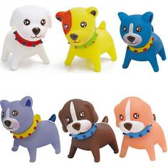 Perfect Play for your Pooch! Mini Rubber Dog | Customized Toy | Promotional Games and Toys
