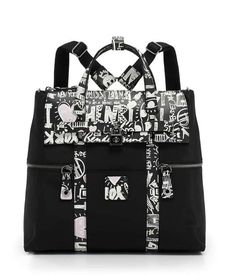 A sleek, urban twist to our 712 Convertible Shoulder Bag, this designer handbag can be worn over the shoulder or as a crossbody. Quilted leather and silver hardware makes this bag feel ultra luxe, just like you Bendel Girl! Graffiti Prints, Convertible Backpack, Real Style, City Chic, Satchel, Crossbody Bags, Diaper Bag, Gym Bag, Black And Grey