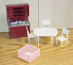 Lot of Marx vintage doll house furniture  by NewEnglandYesterdays
