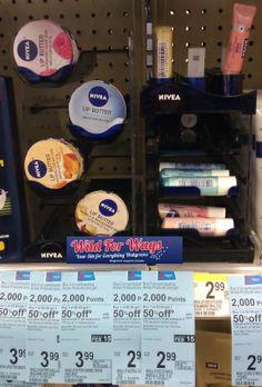 FREE Nivea Lip Kiss of Shimmer at Walgreens!