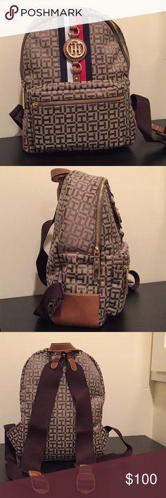Tommy Hilfiger Backpack Tan bag BRAND NEW just got 11/30/17 Tommy Hilfiger Bags Backpacks