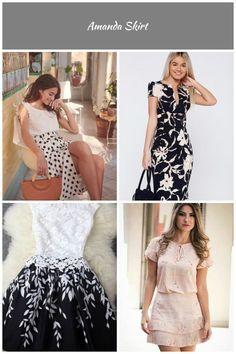 Sézane - Amanda Skirt vestidos Casuais Amanda Skirt Casual, Dresses, Fashion, Casual Dresses, Moda, Vestidos, Fashion Styles, Dress, Dressers