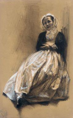 Adolf Menzel drawing