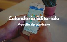 [Template gratis] Modello di calendario editoriale per il tuo blog
