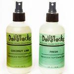 Dollylocks Dreadlock Tightening Spray, scents COCONUT LIME and FRESH- $16.00  Find on www.Doctoredlocks.com