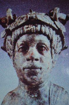Portrait of black Syrian Nobleman. Date: 150-200 C.E.