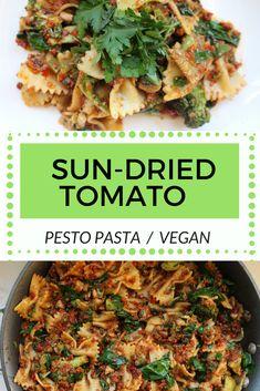 Delicious vegetable filled vegan pasta!