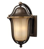 Hinkley Lighting Hinkley 2636OB Traditional One Light Wall Mount from Bolla collection in Bronze//Darkfinish