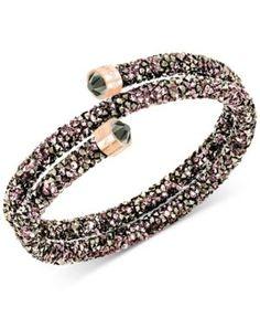 Swarovski fuschia bracelet