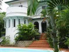 Our Spanish Mission Art Deco home