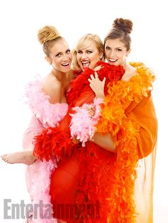 Pitch Perfect 2 - Brittany Snow, Rebel Wilson and Anna Kendrick