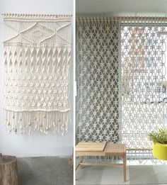 Fisherman knot curtain - Google Search