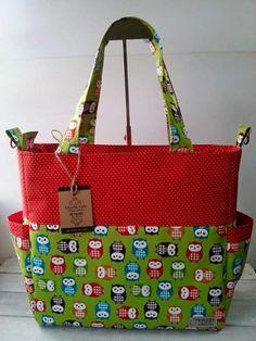 SusieDDesigns - Sophie Nappy Bag sewing pattern