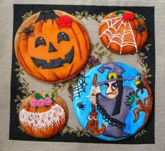 Halloween cookies/kurabiyeler