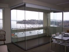 Frameless sliding glass doors Glass Texture, Interior, Home, Glass Balustrade, Bifold Doors, Frameless Sliding Doors, Room Divider, Shower Screen, Interior Design
