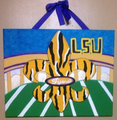 #LSU for an office or tv room