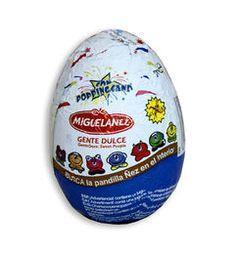 Gama de huevos de chocolate con sorpresa de Migueláñez.