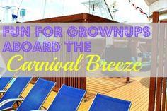 Carnival Breeze adult activities #sponsored