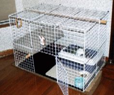 how to build a rabbit condo - tutorial