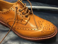 Bourton brogues: A visit to Tricker's shoe ...