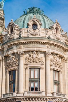 Facade of The Opera or Palace Garnier. Paris - Buy this stock photo and explore similar images at Adobe Stock Opera House Architecture, Baroque Architecture, Classic Architecture, Architecture Details, Paris Buildings, Paris Opera House, Architectural House Plans, Neoclassical Architecture, Logs