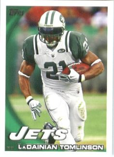 2010 Topps NFL Football Card # 170 LaDainian Tomlinson - New York Jets - NFL Trading Card in a Protective ScrewDown Case! by Topps. $0.01. 2010 Topps NFL Football Card # 170 LaDainian Tomlinson - New York Jets - NFL Trading Card in a Protective ScrewDown Case!