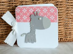 Baby Shower Thank You Cards Set of 40 Gray and by CardinalBoutique, $70.00