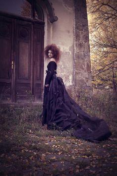 gothic, ghoul, fashion art