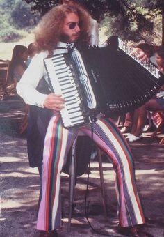 "danismm:    Jon Hammond ""World's First Psychedelic Accordionist"" 1971 Topanga Canyon CAbylaterent2000"