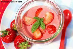 Perabella schön-satt : Erdbeerpudding