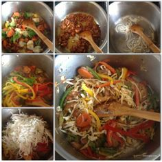chowmein cooking