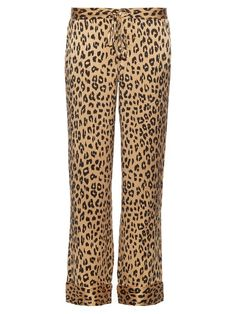 EQUIPMENT X Kate Moss Avery Silk Trousers. #equipment #cloth #trousers