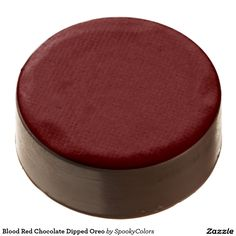 Blood Red Chocolate Dipped Oreo - #windywinters #zazzle