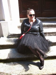 Tutu skirt Plussize Outfit