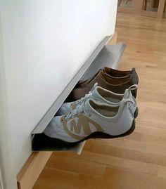 Buena idea para poner zapatos