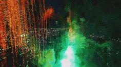Guy Flies Drone Into Fireworks Show