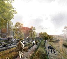 Galería de MOBO Architects + Ecopolis + Concreta diseñarán la estrategia de intervención para el río Fucha en Bogotá - 2