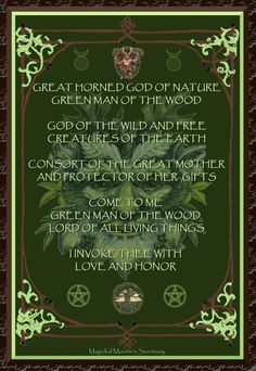The Green Man.  A pre-Christian myth.  Also reminds me of Jeanette Winterson's short story.