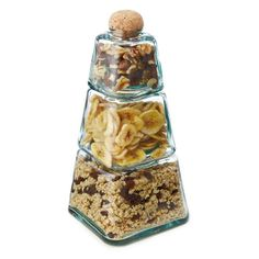 The 'Three Tiered Stacking Jars' Showcases Scrumptious Treats in Style trendhunter.com
