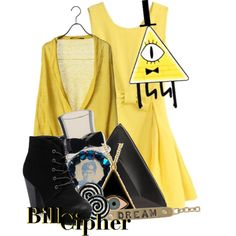 """""""Bill Cipher from Gravity Falls"""" Character Inspired Outfits, Disney Inspired Outfits, Themed Outfits, Disney Outfits, New Outfits, Fall Outfits, Cosplay Diy, Casual Cosplay, Cosplay Outfits"""