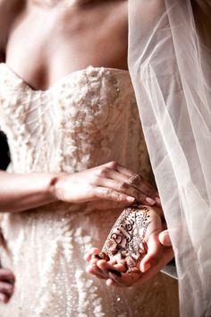 Wedding Nouveau LOVE the details of the bodice